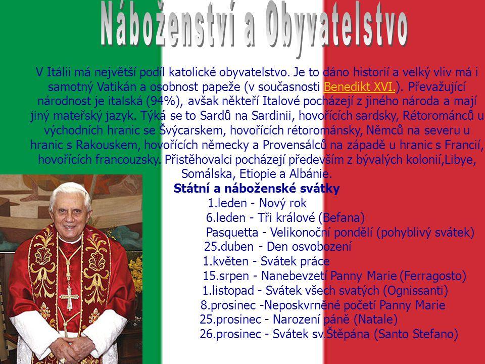 Státní a náboženské svátky