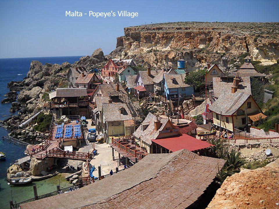 Malta - Popeye s Village