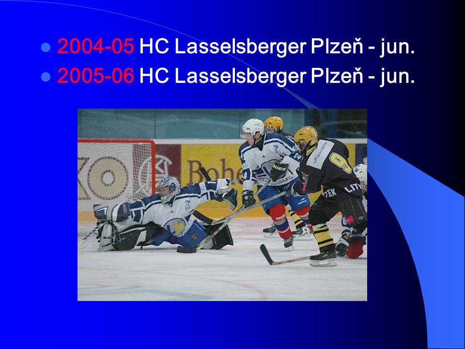 2004-05 HC Lasselsberger Plzeň - jun.