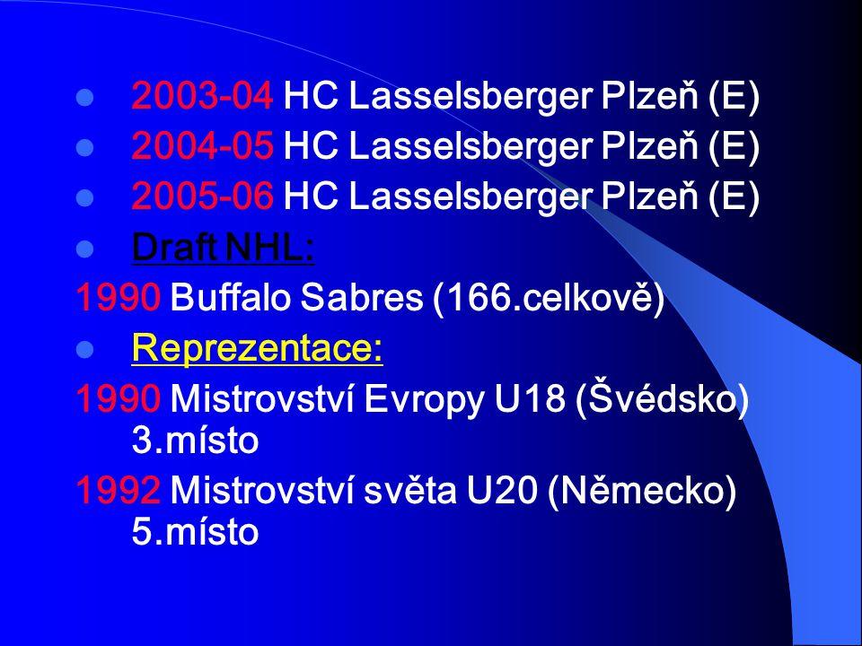 2003-04 HC Lasselsberger Plzeň (E)