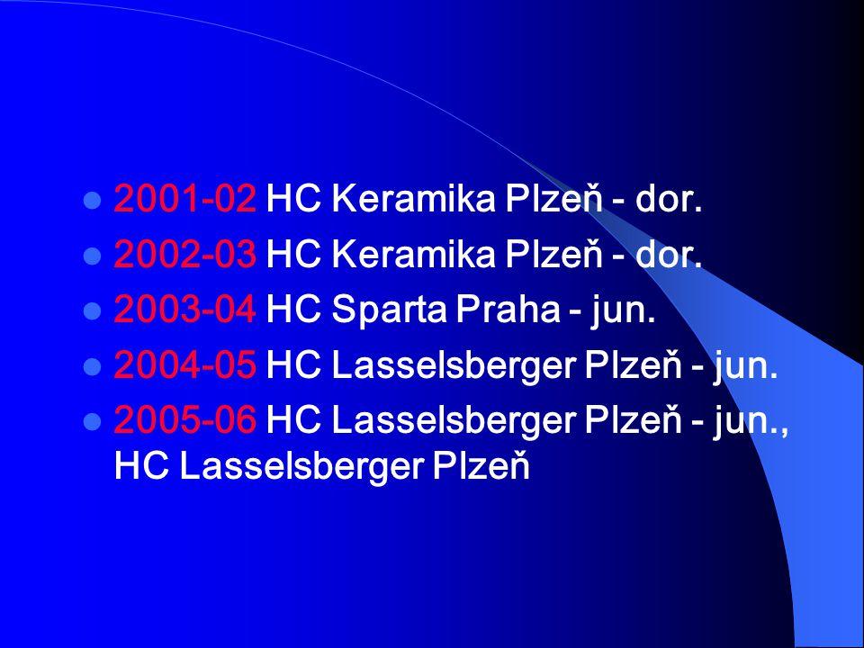 2001-02 HC Keramika Plzeň - dor.
