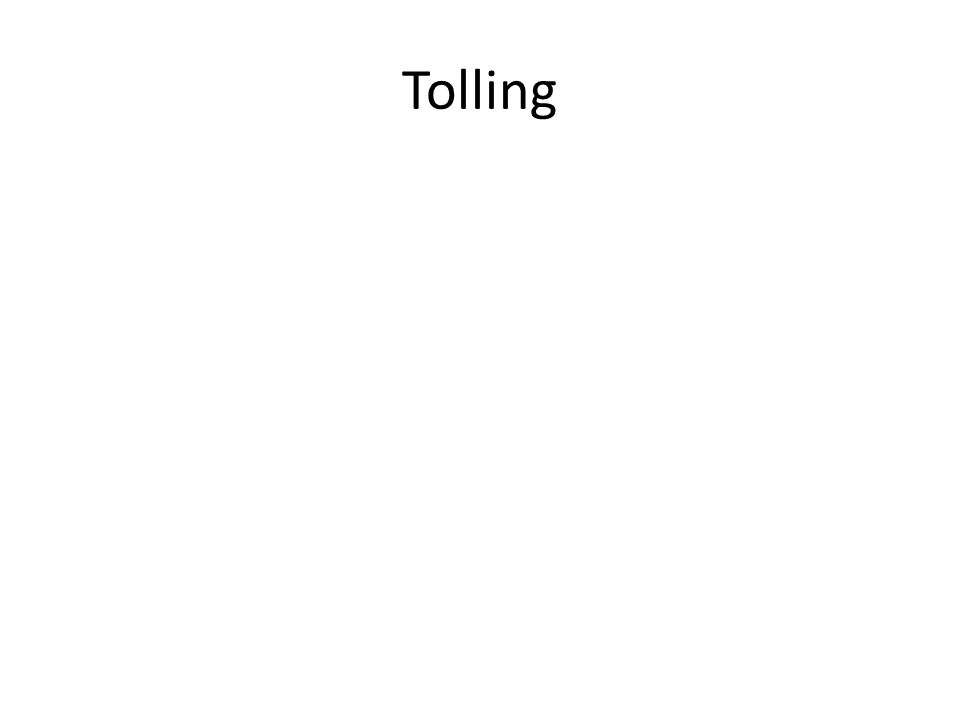 Tolling