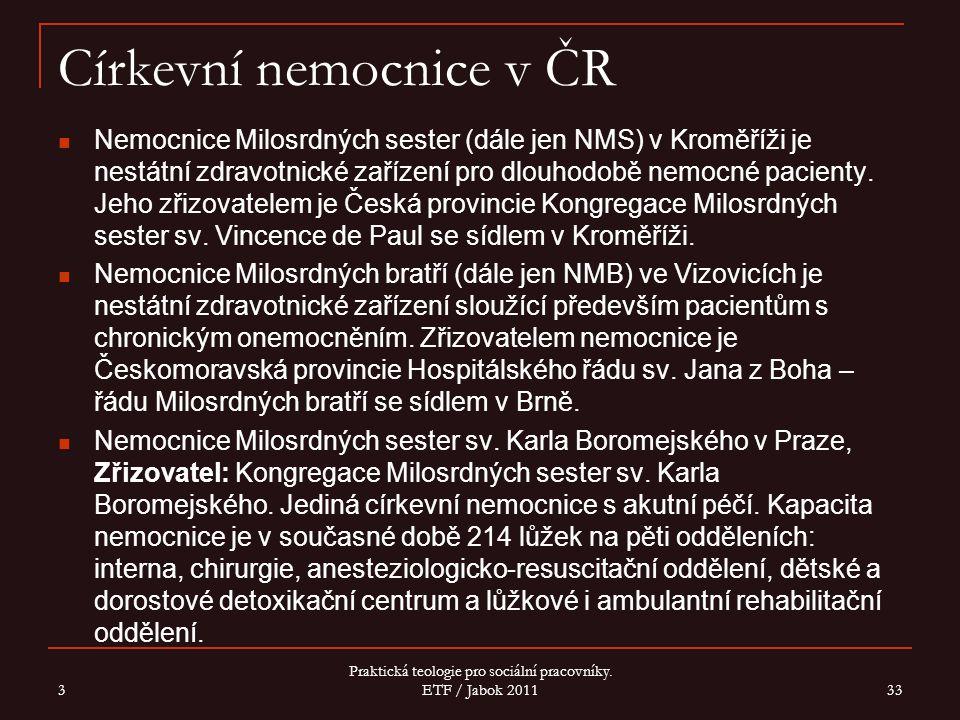 Církevní nemocnice v ČR