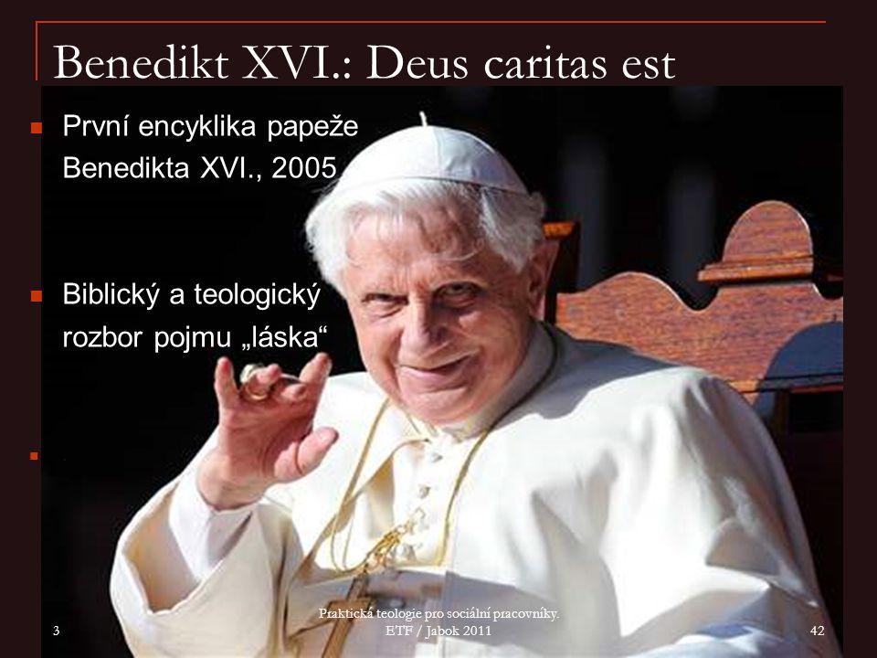 Benedikt XVI.: Deus caritas est
