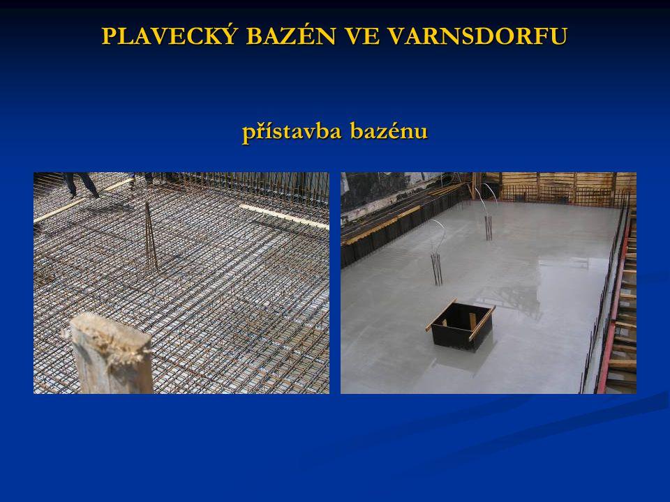 PLAVECKÝ BAZÉN VE VARNSDORFU přístavba bazénu
