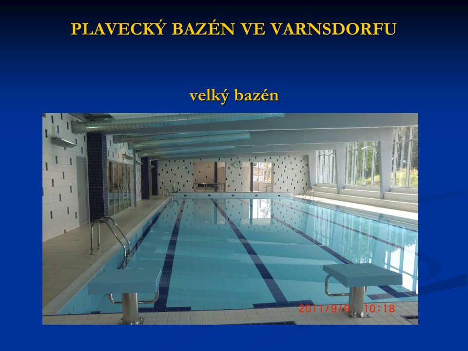 PLAVECKÝ BAZÉN VE VARNSDORFU velký bazén
