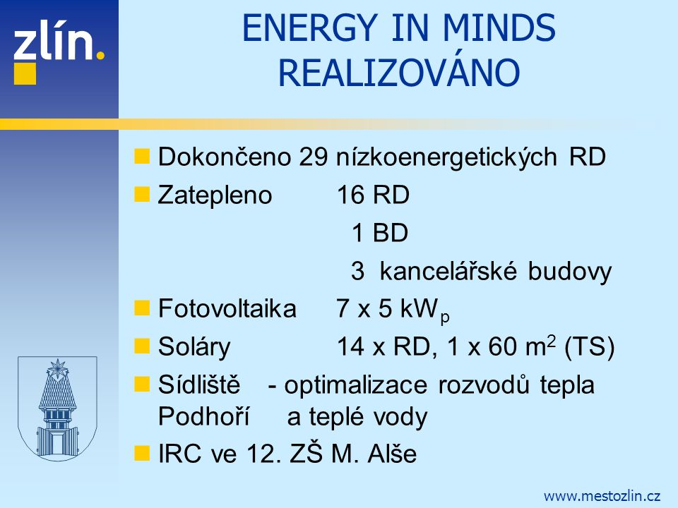 ENERGY IN MINDS REALIZOVÁNO
