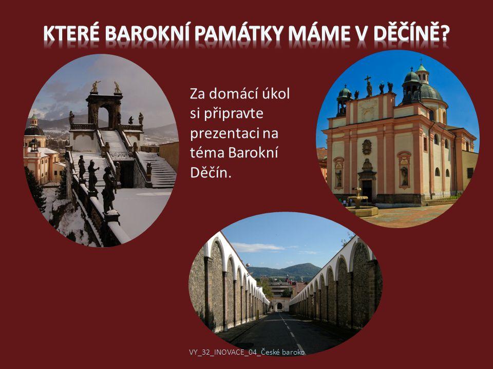 Které barokní památky máme v Děčíně