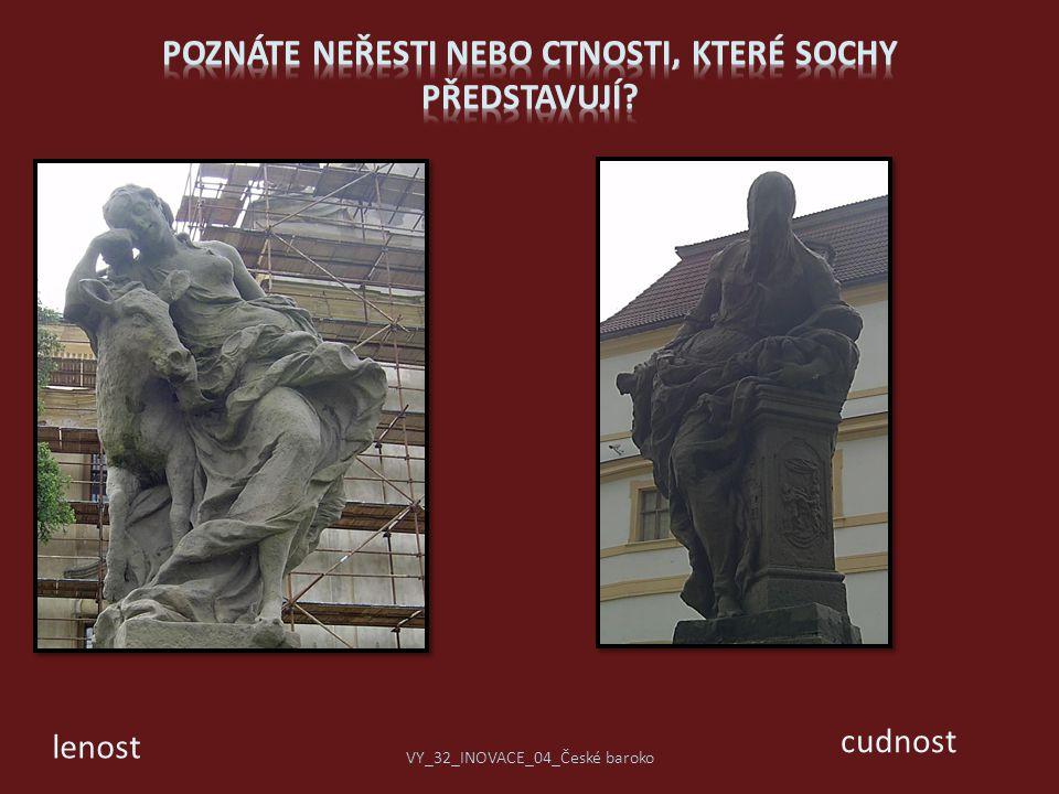 Poznáte neřesti nebo ctnosti, které sochy představují