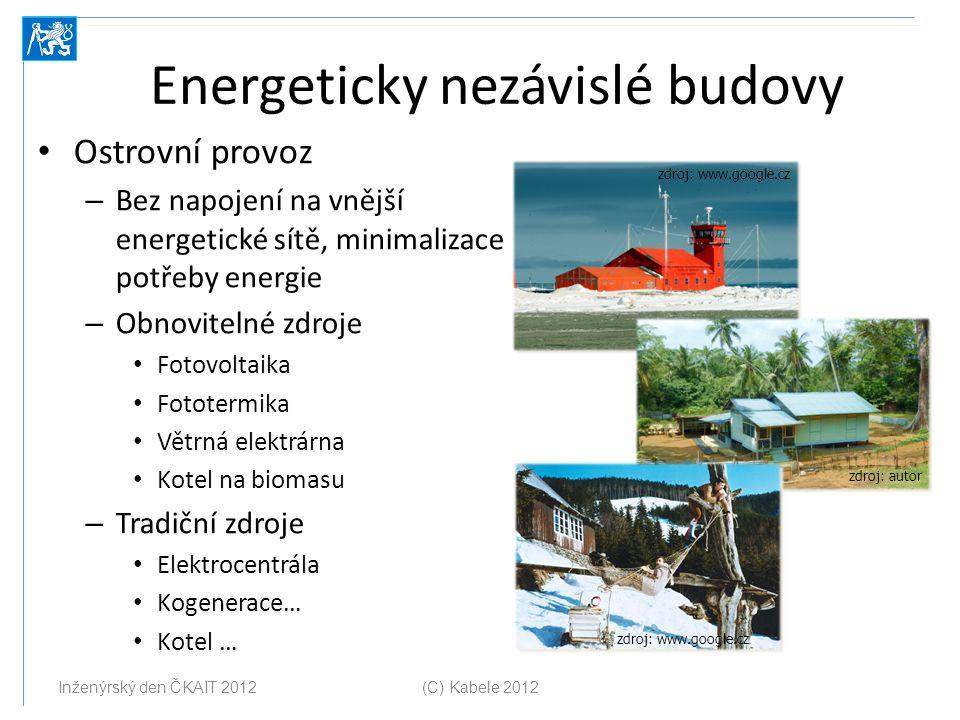 Energeticky nezávislé budovy