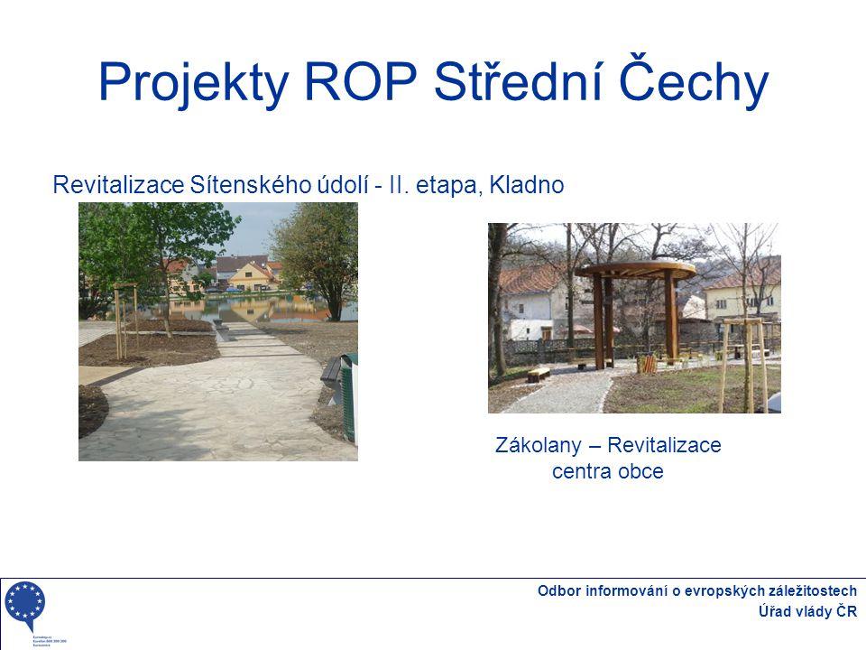 Projekty ROP Střední Čechy