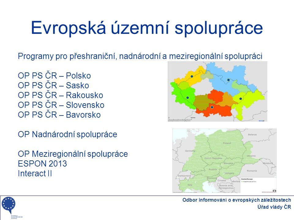 Evropská územní spolupráce