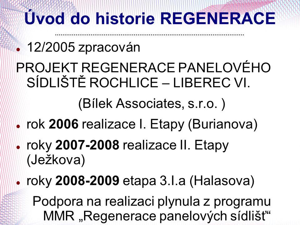 Úvod do historie REGENERACE
