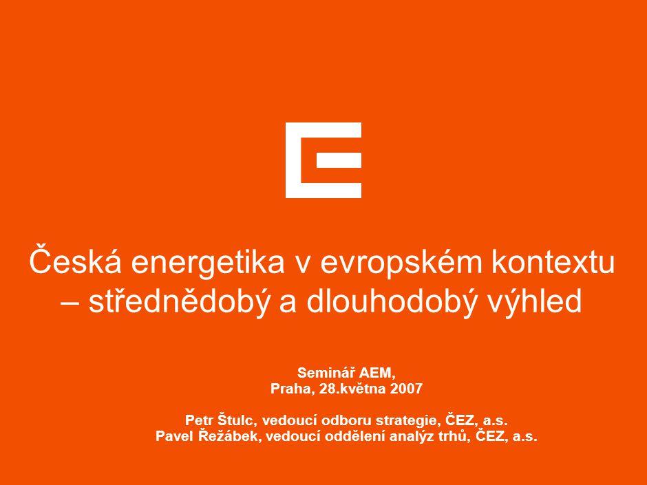AGENDA Střednědobý výhled Co určuje cenu elektřiny v Německu