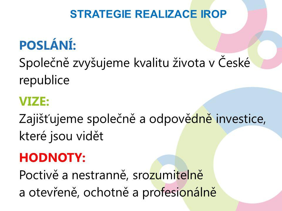 Strategie realizace IROP