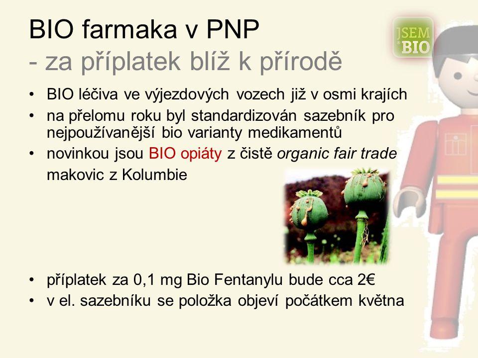 BIO farmaka v PNP - za příplatek blíž k přírodě