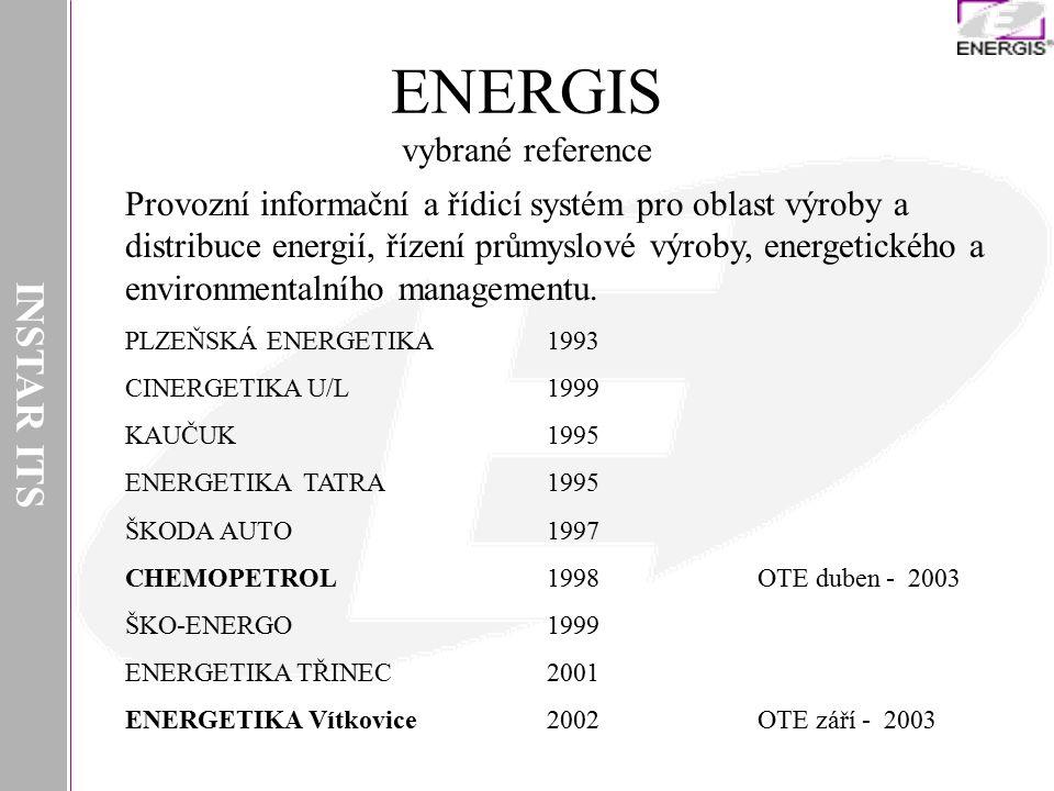 ENERGIS vybrané reference