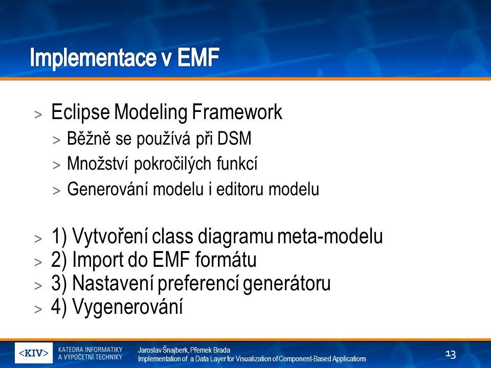 Implementace v EMF Eclipse Modeling Framework