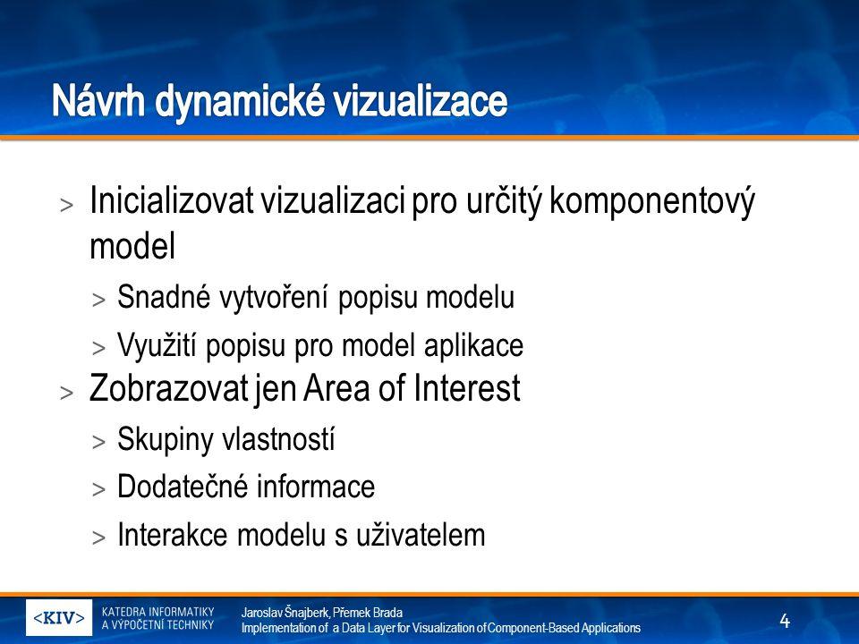 Návrh dynamické vizualizace