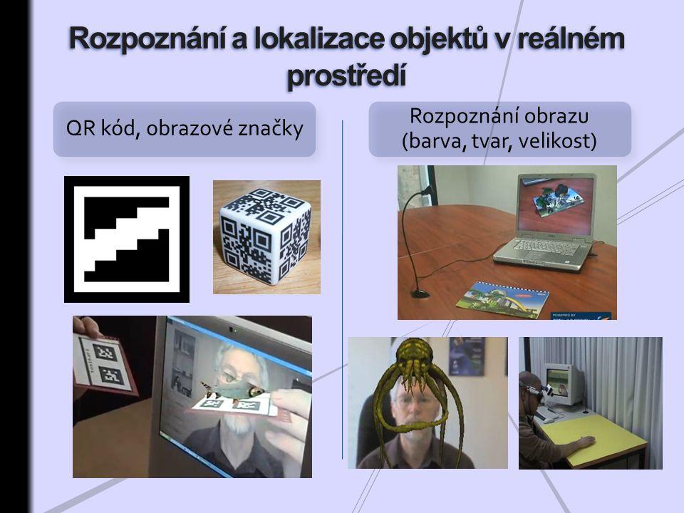 Rozpoznání a lokalizace objektů v reálném prostředí