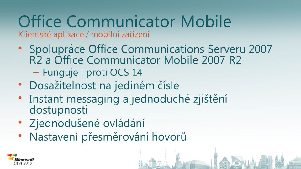 Office Communicator Mobile