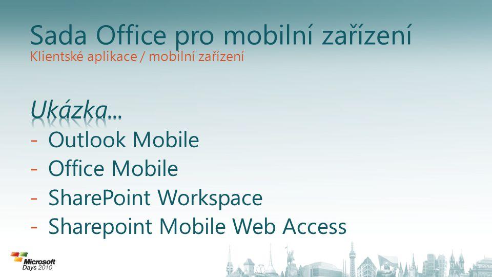 Sada Office pro mobilní zařízení