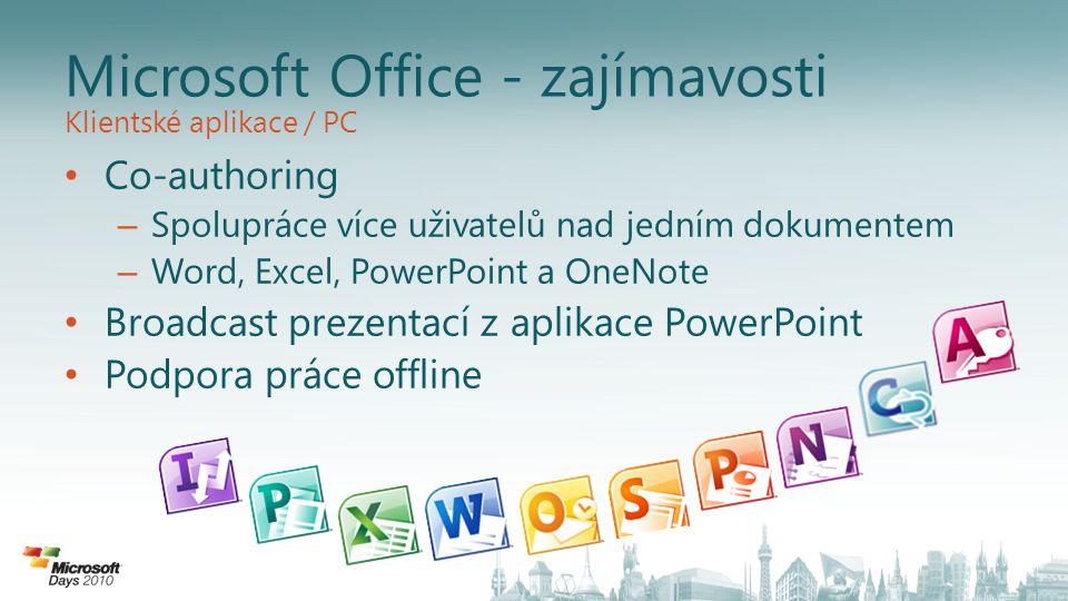 Microsoft Office - zajímavosti