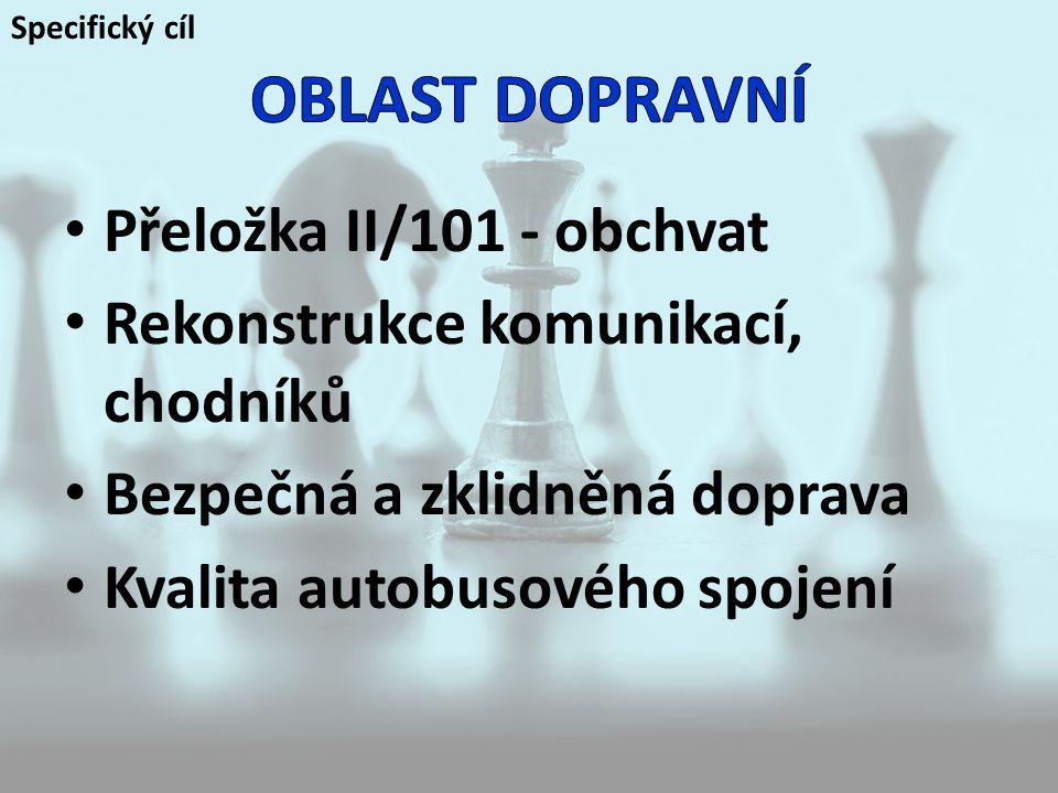 OBLAST DOPRAVNÍ Přeložka II/101 - obchvat