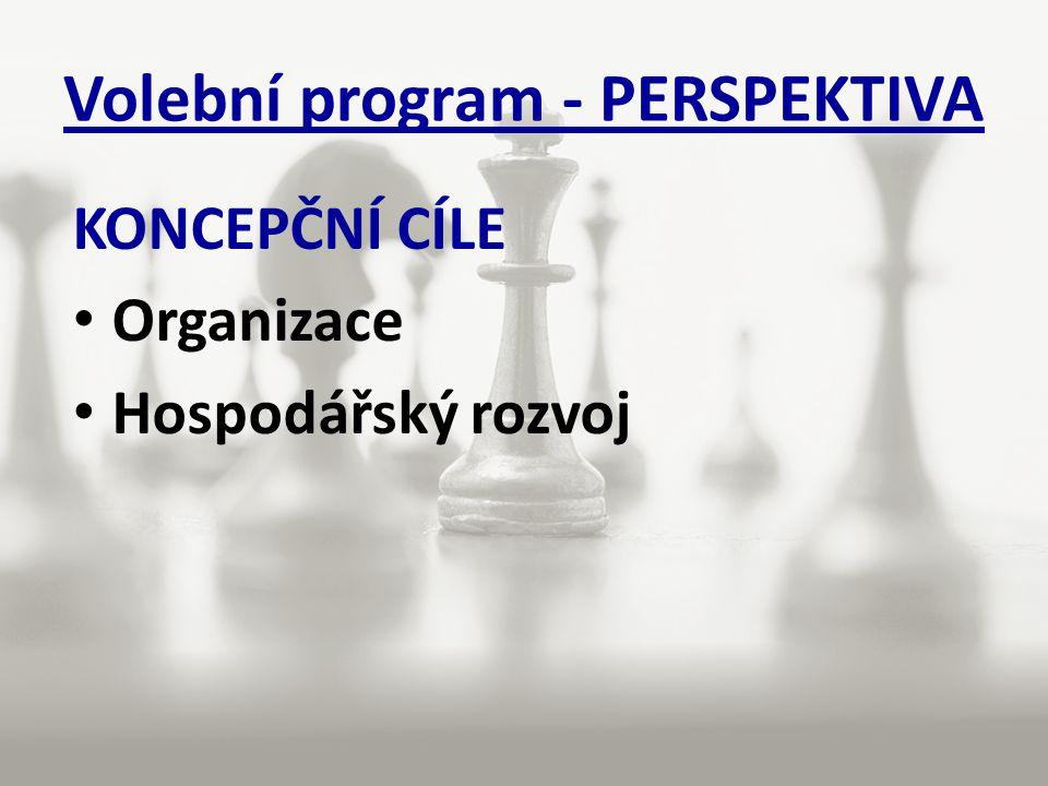 Volební program - PERSPEKTIVA