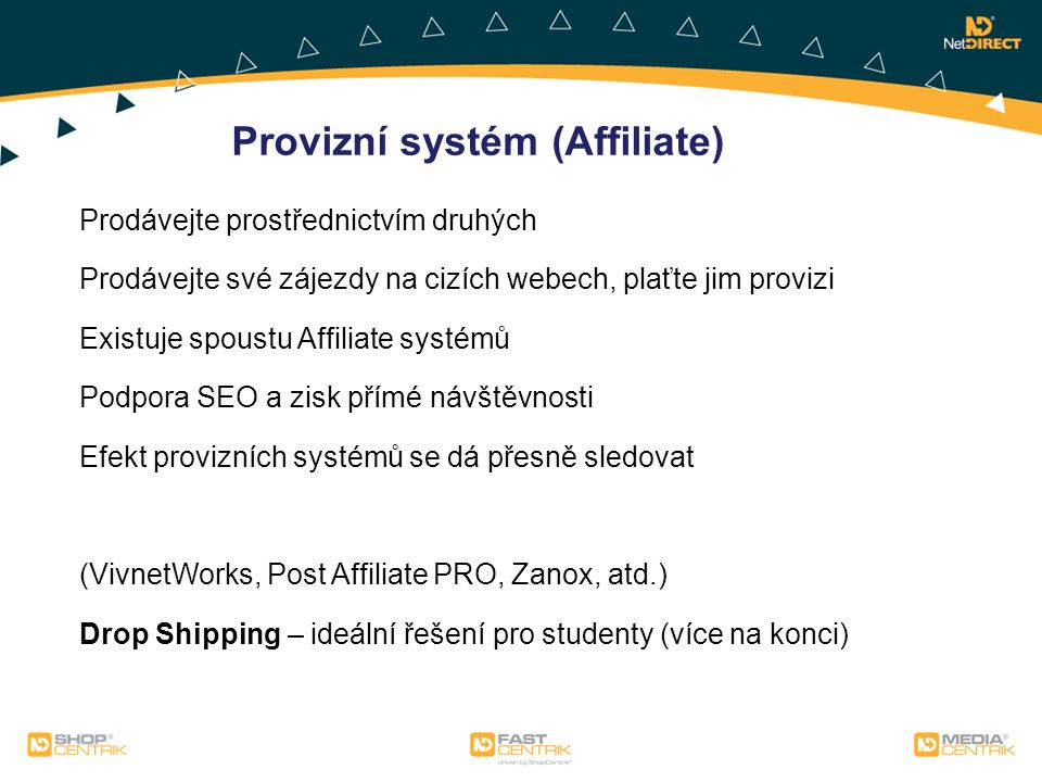 Provizní systém (Affiliate)