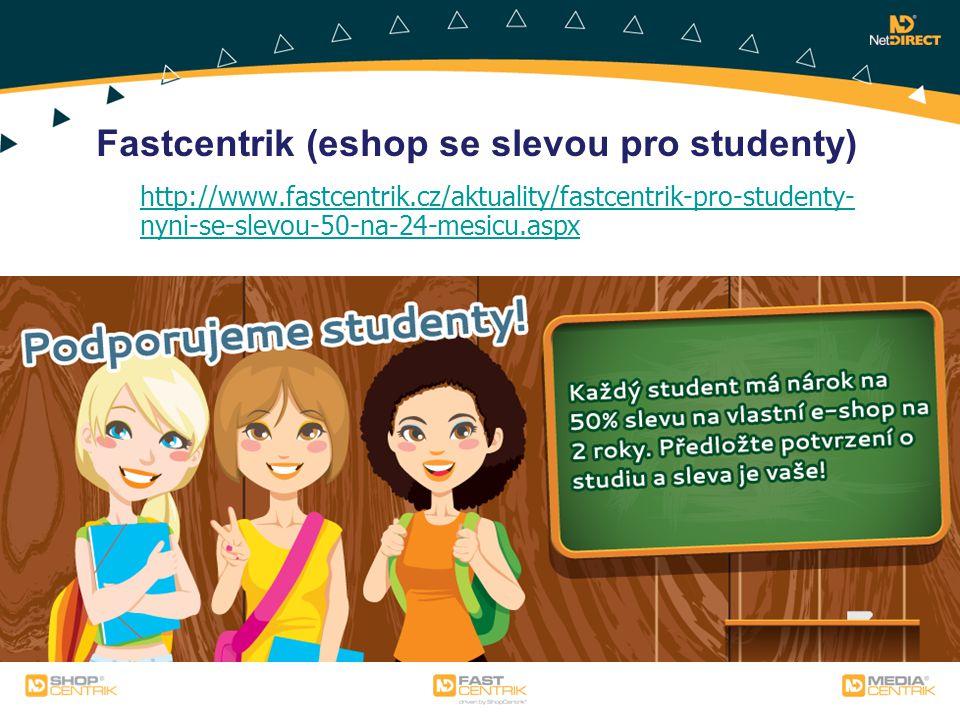 Fastcentrik (eshop se slevou pro studenty)