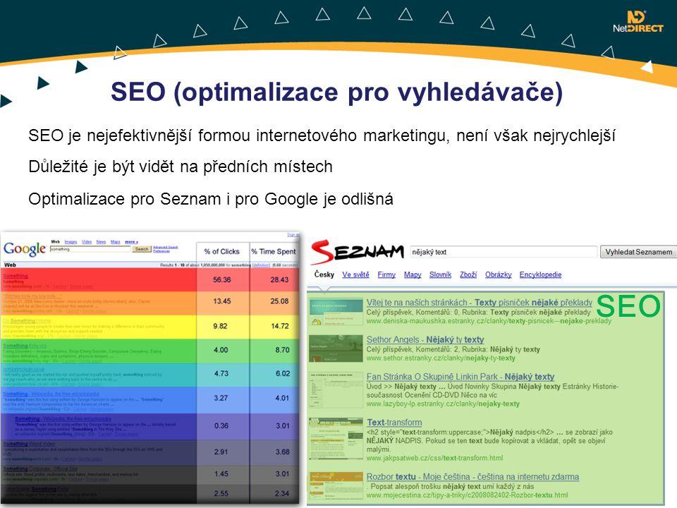 SEO SEO (optimalizace pro vyhledávače)