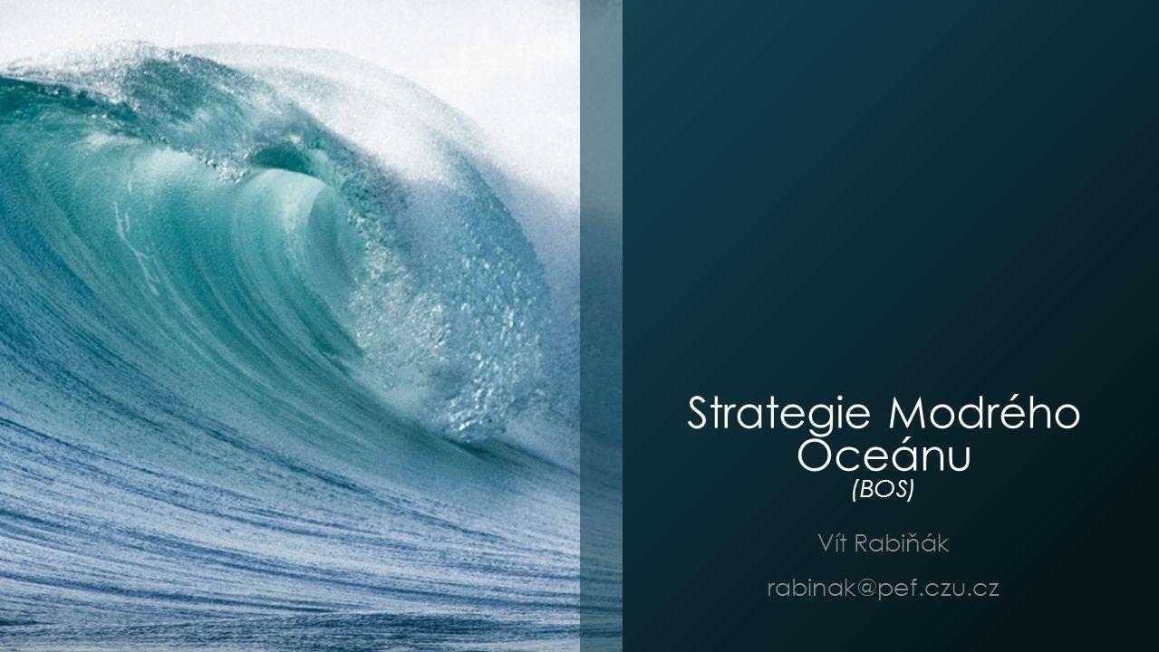 Strategie Modrého Oceánu (BOS)