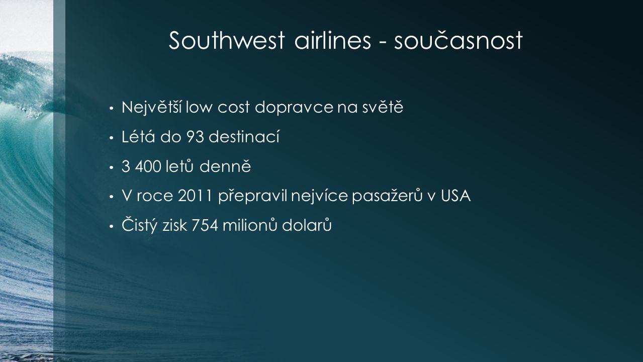 Southwest airlines - současnost