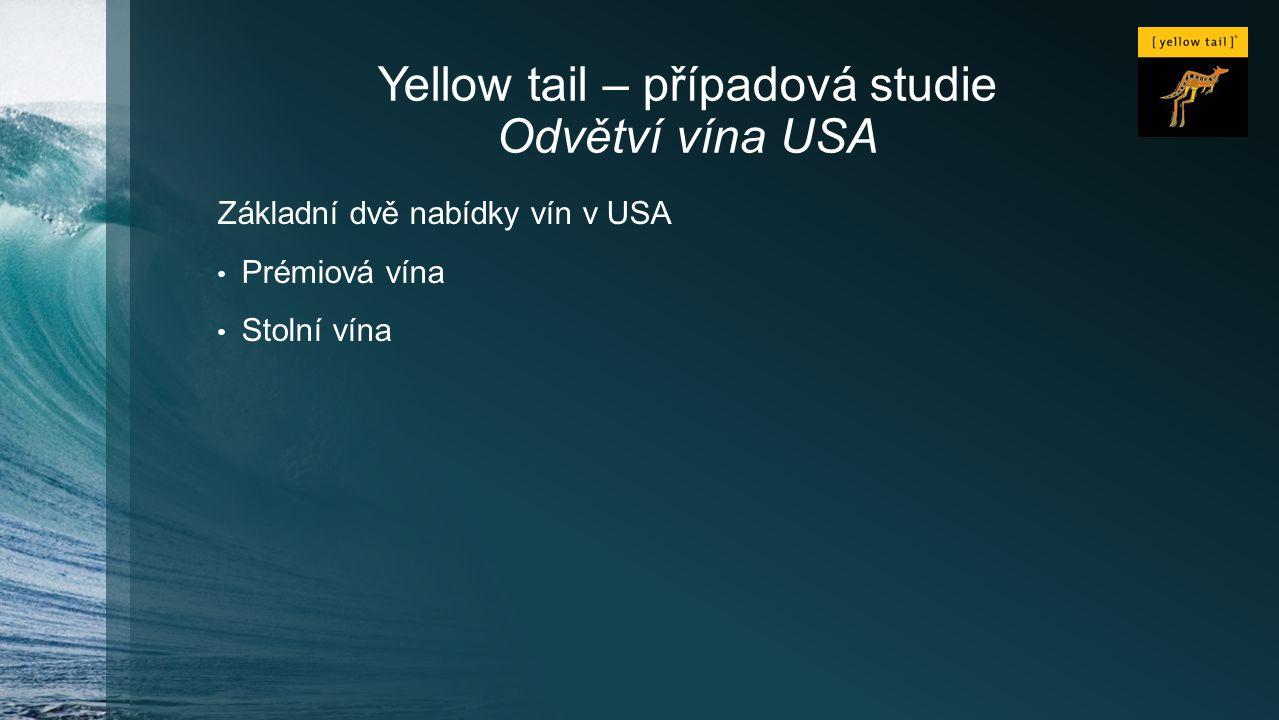 Yellow tail – případová studie Odvětví vína USA