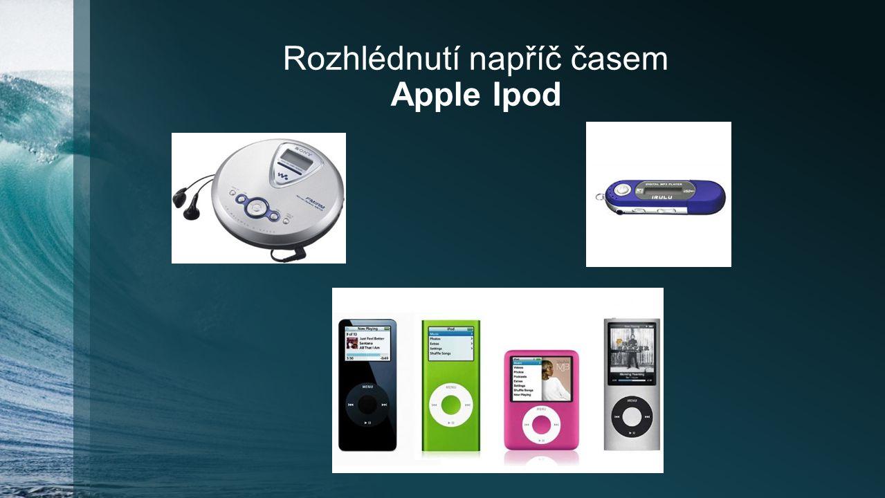 Rozhlédnutí napříč časem Apple Ipod