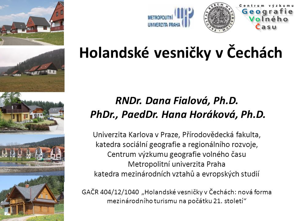 PhDr., PaedDr. Hana Horáková, Ph.D.