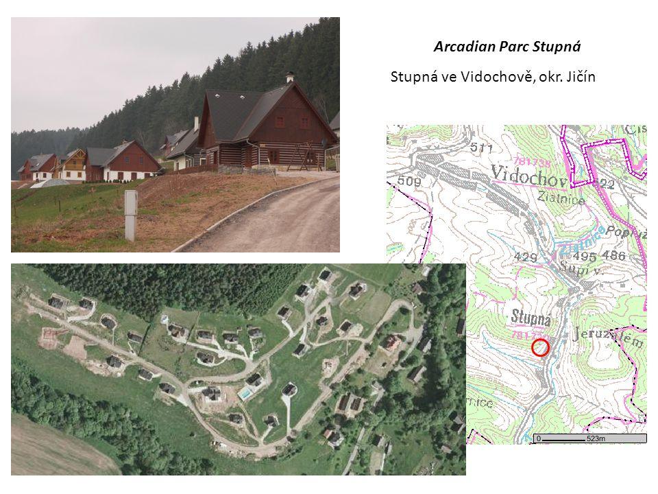 Arcadian Parc Stupná Stupná ve Vidochově, okr. Jičín