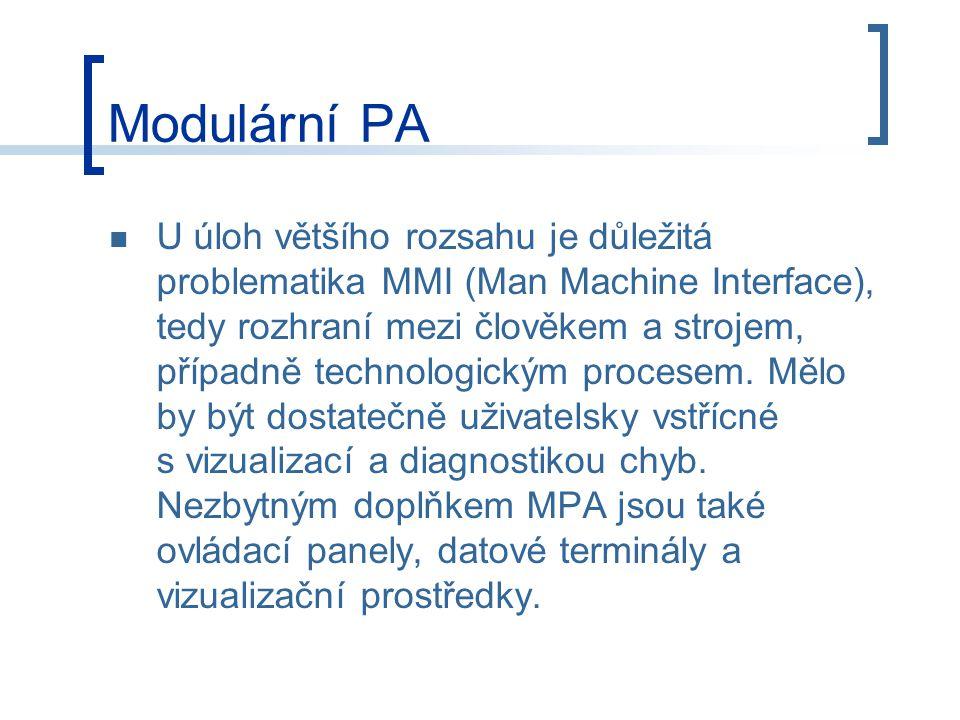 Modulární PA