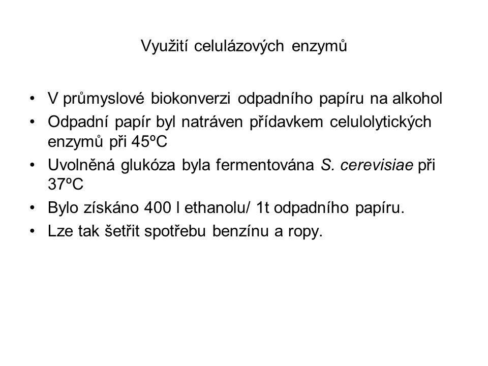 Využití celulázových enzymů