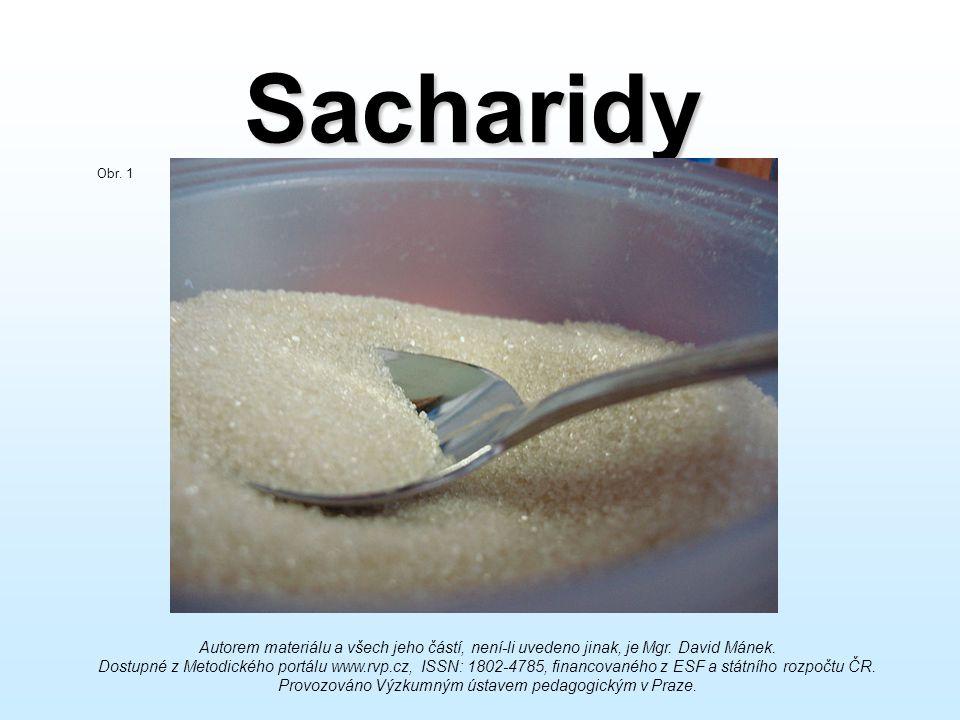 Sacharidy Obr. 1.