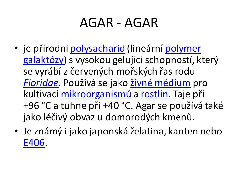 AGAR - AGAR