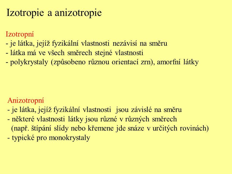 Izotropie a anizotropie