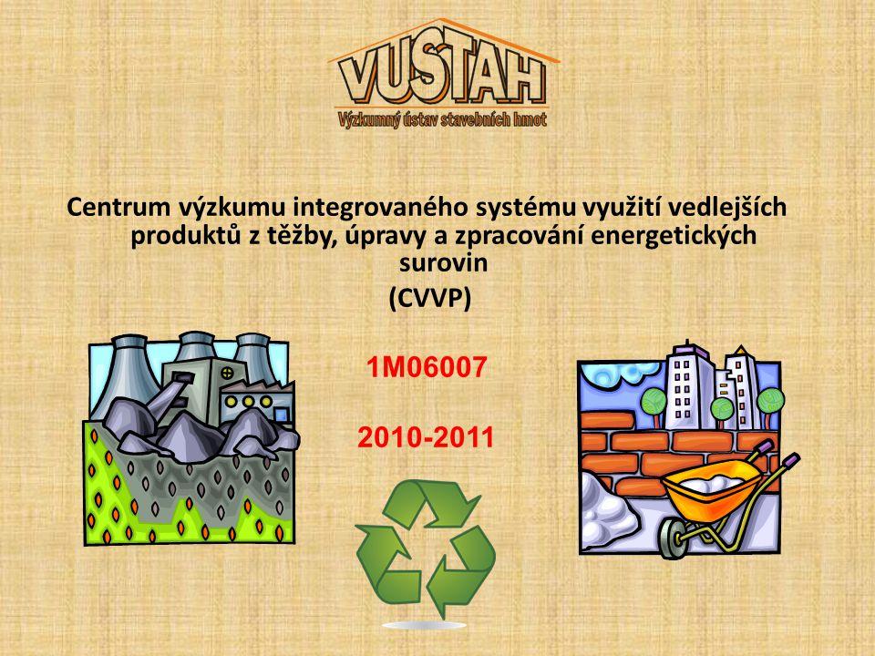 Centrum výzkumu integrovaného systému využití vedlejších produktů z těžby, úpravy a zpracování energetických surovin