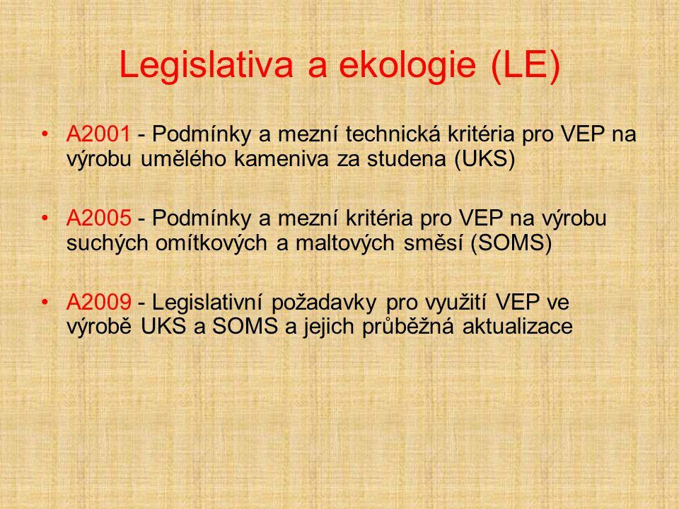 Legislativa a ekologie (LE)