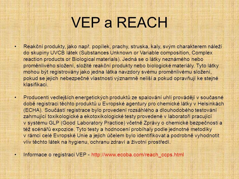 VEP a REACH