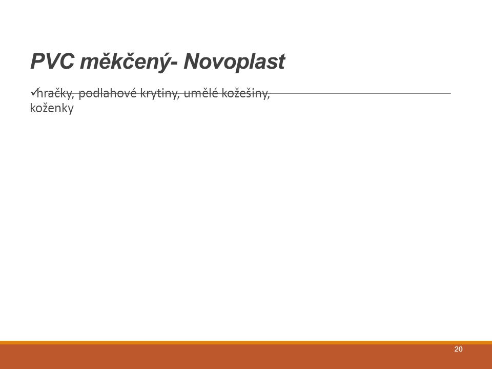 PVC měkčený- Novoplast