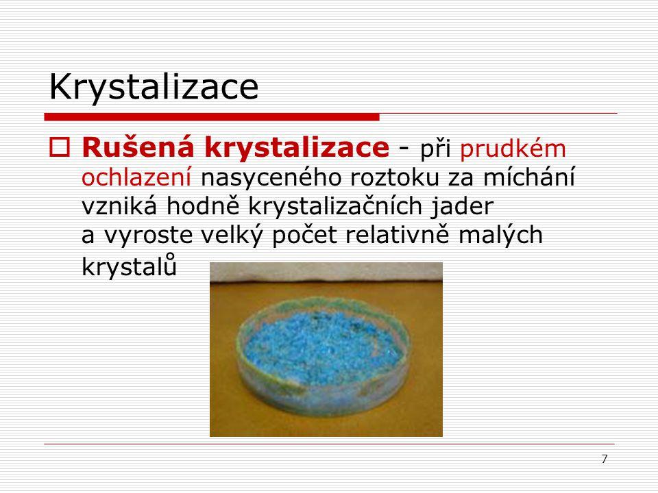 Krystalizace