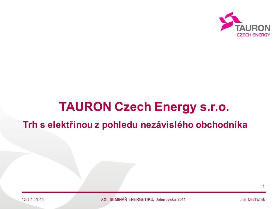 TAURON Czech Energy s.r.o.