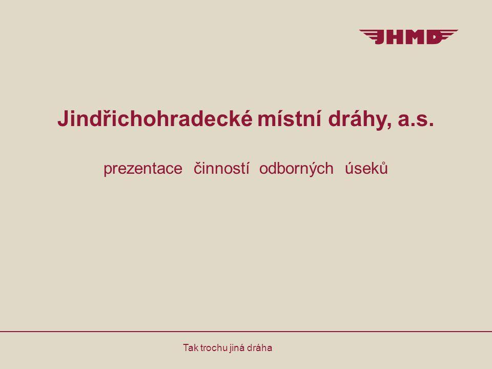 Jindřichohradecké místní dráhy, a. s